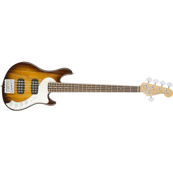 Fender American Elite Dimension Bass V HH, Rosewood Fingerboard, Violin Burst