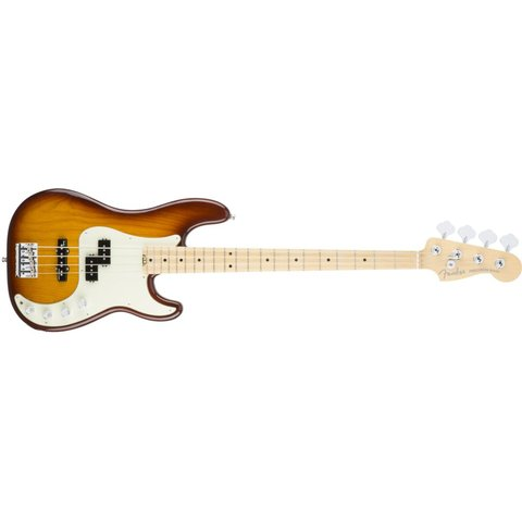 American Elite Precision Bass Ash, Maple Fingerboard, Tobacco Burst