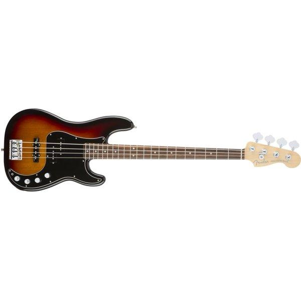 Fender American Elite Precision Bass, Rosewood Fingerboard, 3-Color Sunburst