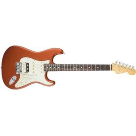Fender American Elite Stratocaster HSS Shawbucker, Rw Fingrbrd, Autumn Blaze Metallic