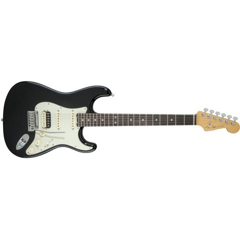 American Elite Stratocaster HSS Shawbucker, Rosewood Fingerboard, Mystic Black