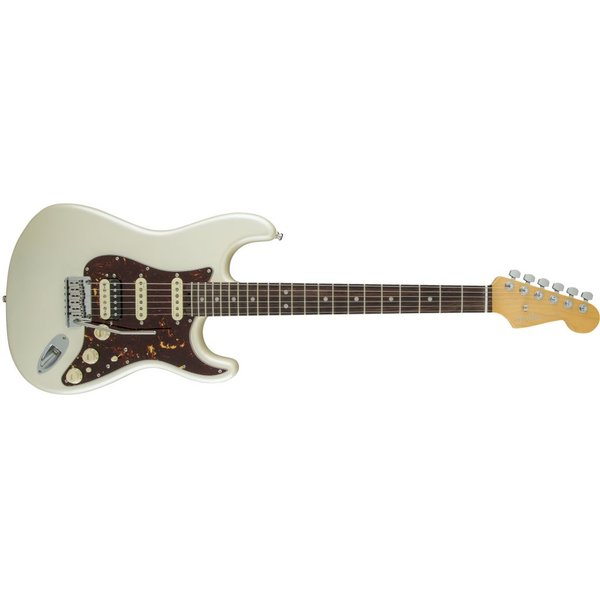 Fender American Elite Stratocaster HSS Shawbucker, Rosewood Fingerboard, Olympic Pearl