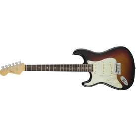 Fender American Elite Stratocaster Left-Hand, Rosewood Fingerboard, 3-Color Sunburst