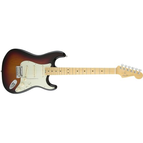 American Elite Stratocaster, Maple Fingerboard, 3-Color Sunburst