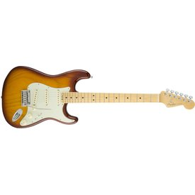 Fender American Elite Stratocaster, Maple Fingerboard, Tobacco Sunburst (Ash)