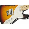 American Elite Telecaster Thinline, Maple Fingerboard, 3-Color Sunburst