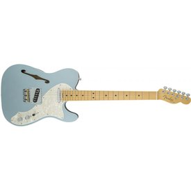 Fender American Elite Telecaster Thinline, Maple Fingerboard, Mystic Ice Blue