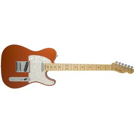 Fender American Elite Telecaster, Maple Fingerboard, Autumn Blaze Metallic