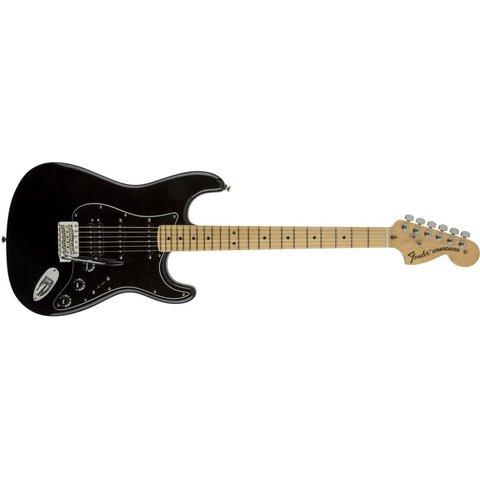 American Special Stratocaster HSS, Maple Fingerboard, Black