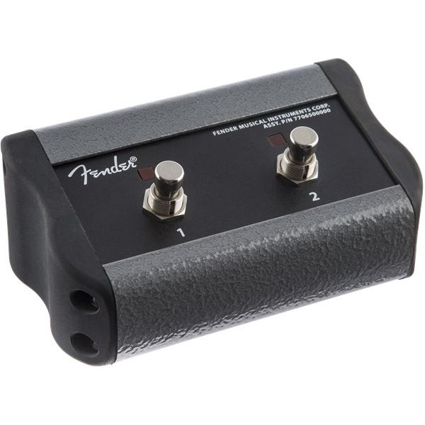 Fender 2-Button Footswitch, Acoustic Pro/SFX, Black