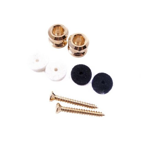 American Series Locking Strap Buttons (2) (Gold)