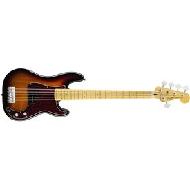 Squier Vintage Modified Precision Bass V, Maple Fingerboard, 3-Color Sunburst
