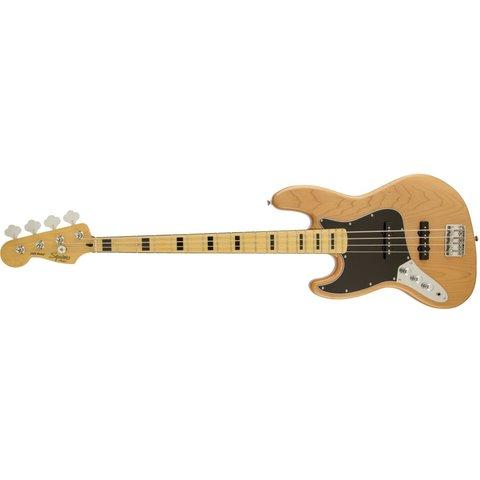 Vintage Modified Jazz Bass '70s, Left-Handed, Maple Fingerboard, Natural