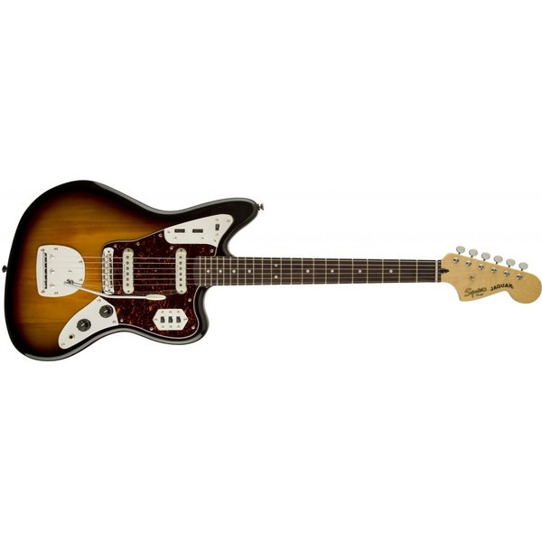 Squier Vintage Modified Jaguar, Rosewood Fingerboard, 3-Color Sunburst