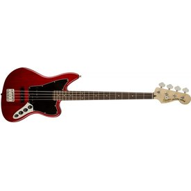Squier Vintage Modified Jaguar Bass Special Rosewood Fingerboard Crimson Trans Red