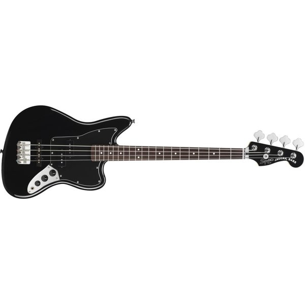Squier Vintage Modified Jaguar Bass Special SS, Rosewood Fingerboard, Black