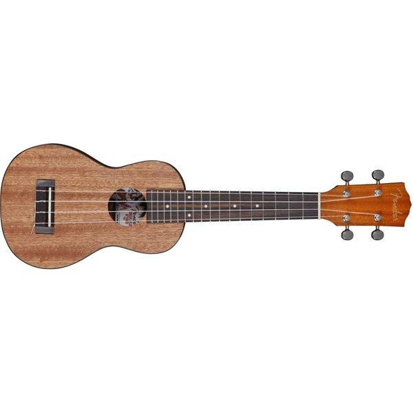 Fender Ukulele U'Uku - Soprano, Natural