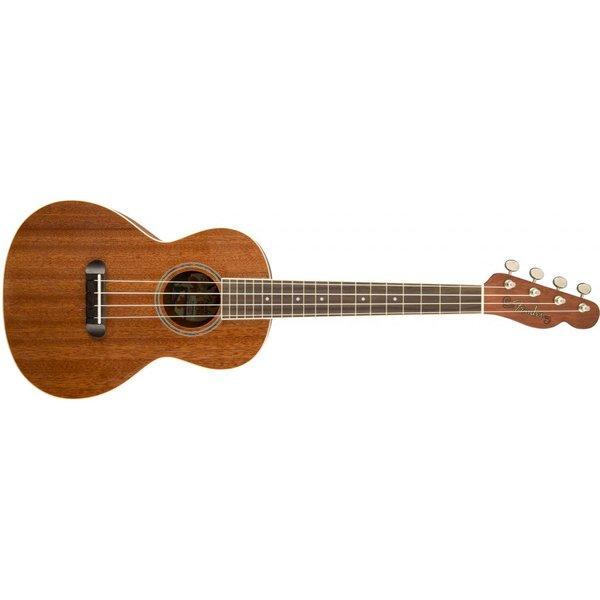 Fender Ukulele Hau'oli, All laminate mahogany