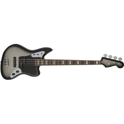 Troy Sanders Jaguar Bass, Rosewood Fingerboard, Silverburst