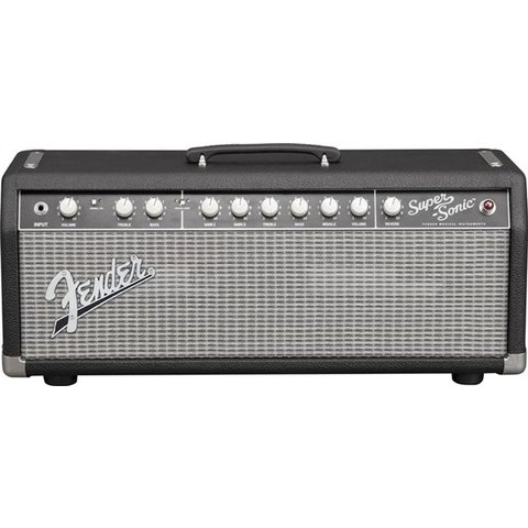Super-Sonic 22 Head, Black/Silver, 120V