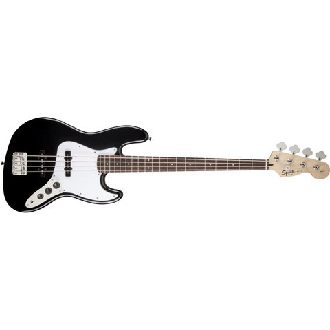 Affinity Series Jazz Bass w/ Fender Rumble 15 Amp, Black