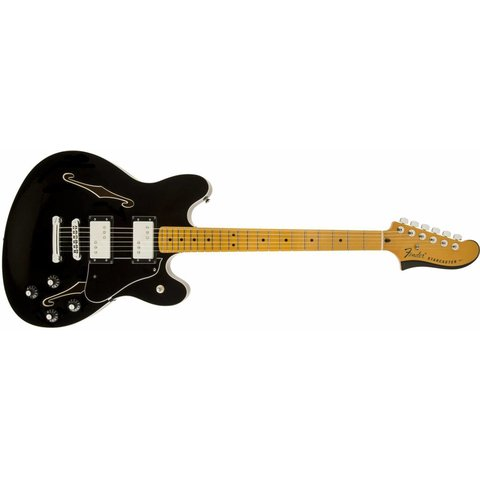 Starcaster, Maple Fingerboard, Black