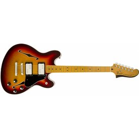 Fender Starcaster, Maple Fingerboard, Aged Cherry Burst