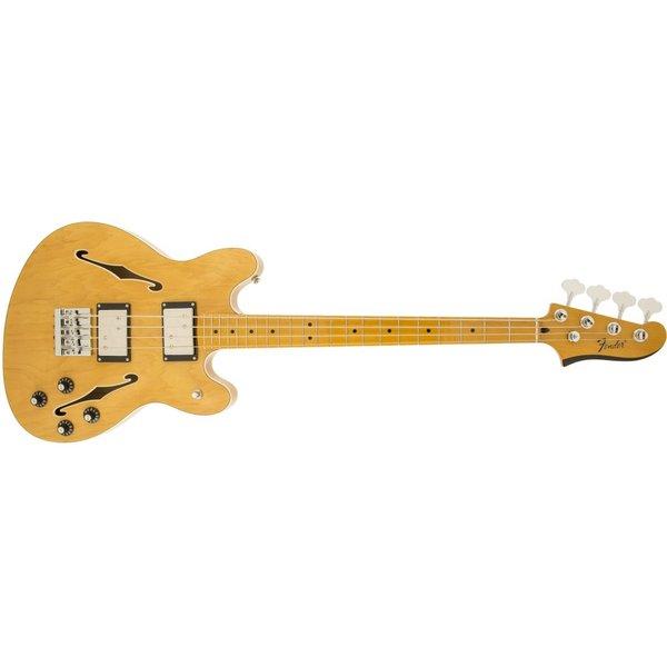 Fender Starcaster Bass, Maple Fingerboard, Natural