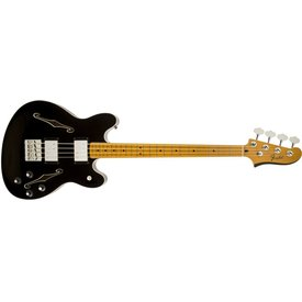 Fender Starcaster Bass, Maple Fingerboard, Black