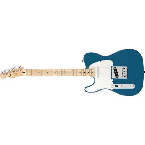 Standard Telecaster Left-Handed, Maple Fingerboard, Lake Placid Blue