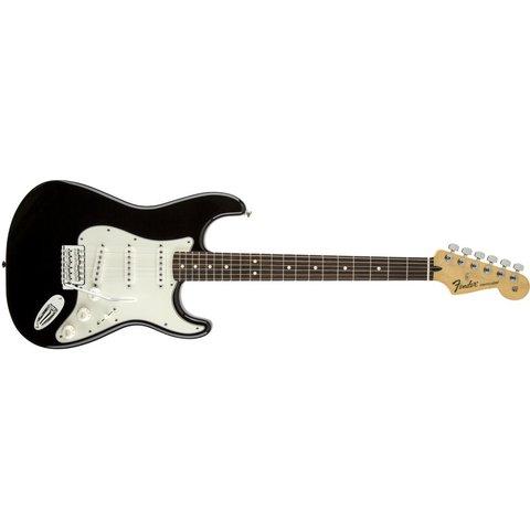 Standard Stratocaster, Rosewood Fingerboard, Black