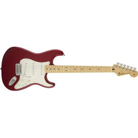 Fender Standard Stratocaster, Maple Fingerboard, Candy Apple Red