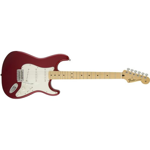 Standard Stratocaster, Maple Fingerboard, Candy Apple Red