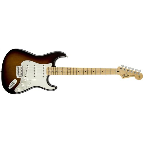 Standard Stratocaster, Maple Fingerboard, Brown Sunburst
