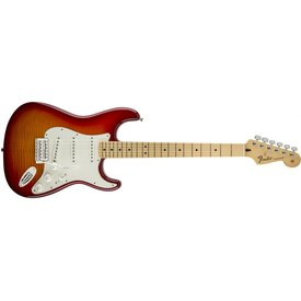 Fender Standard Stratocaster Plus Top, Maple Fingerboard, Aged Cherry Burst