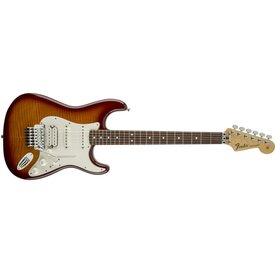 Fender Standard Stratocaster Plus Top with Floyd Rose Tremolo, Maple Fingerboard, Aged Cherry Burst