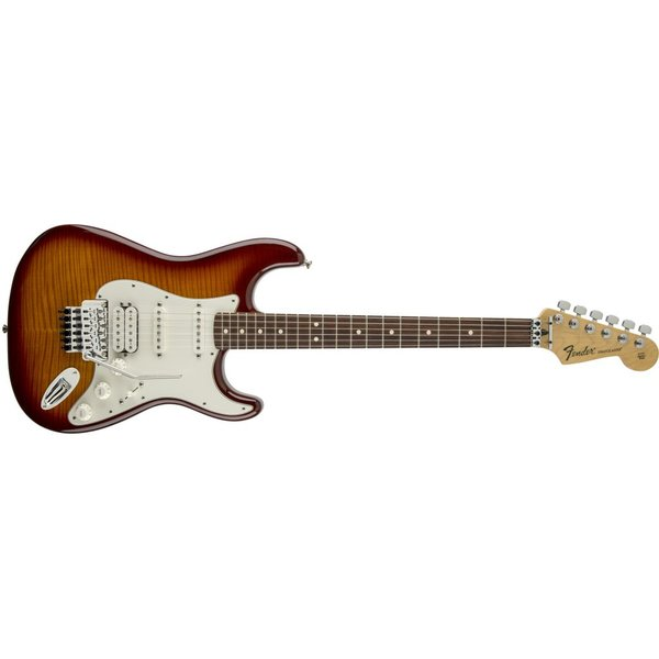 Fender Standard Stratocaster Plus Top w Floyd Rose Trem Maple Fngrbrd Aged Cherry Burst