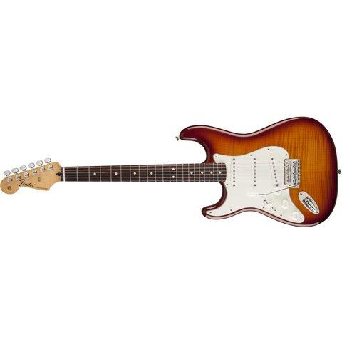 Standard Stratocaster Plus Top Left-Handed Rosewood Fingerboard Tobacco Sunburst