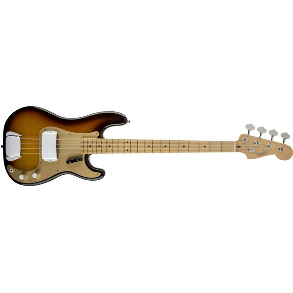 Fender American Vintage '58 Precision Bass, Maple Fingerboard, 3-Color Sunburst