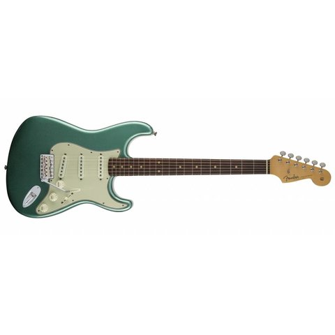 American Vintage '59 Stratocaster Slab Rosewood Fingrbrd Sherwood Green Metallic