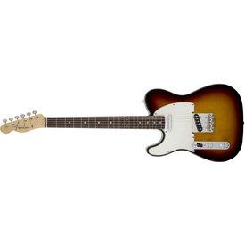 Fender American Vintage '64 Telecaster Left-Handed, Round-Lam Rw Fb, 3-Color Sunburst