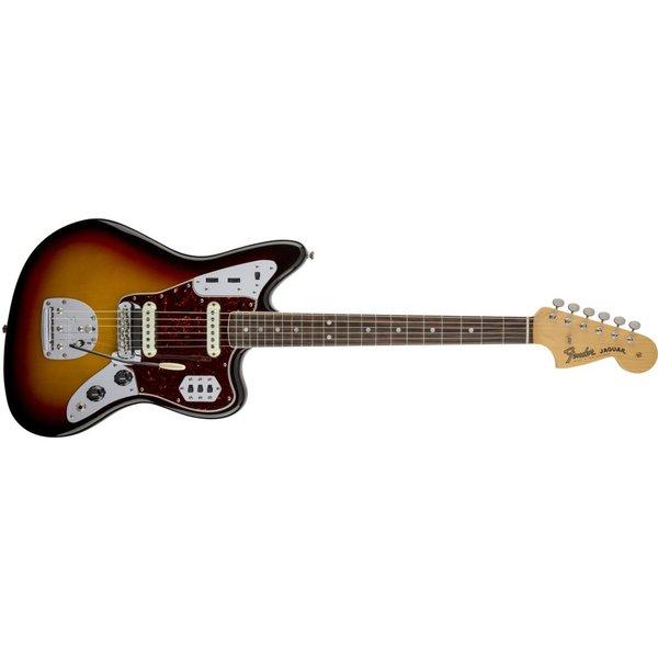Fender American Vintage '65 Jaguar, Round-Lam Rosewood Fingerboard, 3-Color Sunburst