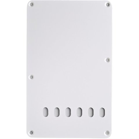 Backplate, Vintage-Style Stratocaster, White, 1-Ply