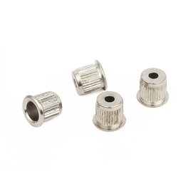 Fender Bass String Ferrules, Nickel (4)