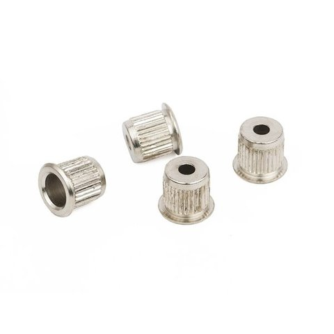 Bass String Ferrules, Nickel (4)