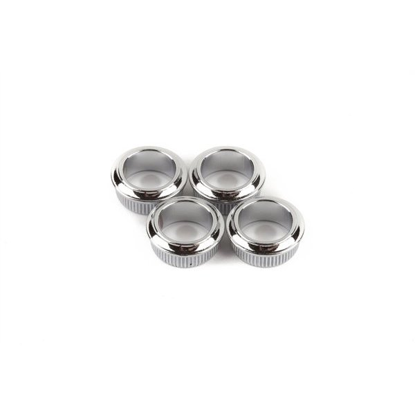 Fender Bass Tuning Machine Bushings- Standard/Deluxe Series (Mexico), Chrome