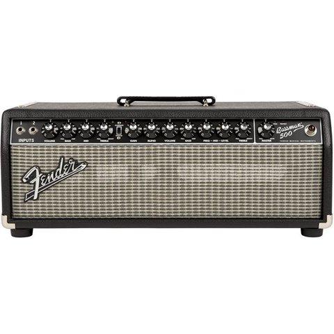 Bassman 500 Head, 120V, Black/Silver