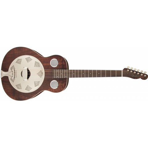 Brown Derby Resonator, Brown Stain