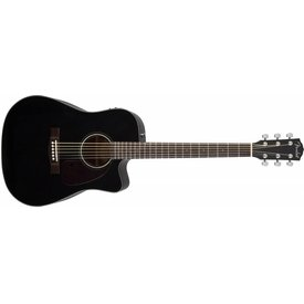 Fender CD-140SCE, Cutaway, Solid Spruce Top, Black Gloss