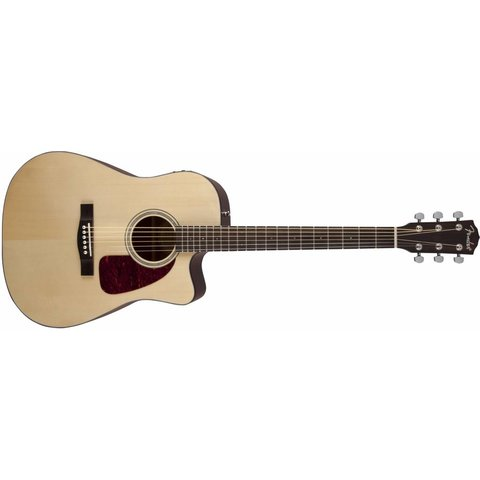 CD-140SCE, Cutaway, Solid Spruce Top, Natural Gloss